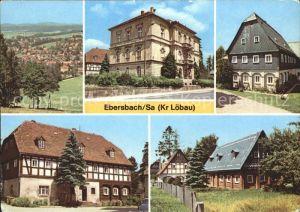 Ebersbach Sachsen Altes Rathaus Umgebindehaeuser Kat. Ebersbach Sachsen