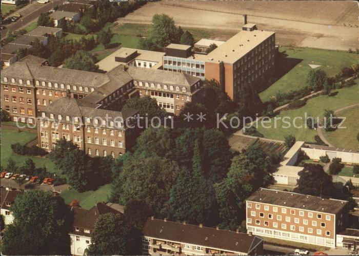 Krefeld Krankenhaus Maria Hilf Fliegeraufnahme Kat Krefeld Nr