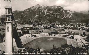 Garmisch Partenkirchen Olympia Skistadion  Kat. Garmisch Partenkirchen