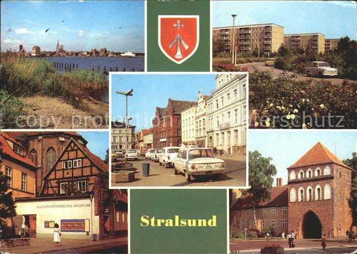 Stralsund Mecklenburg Vorpommern Leninplatz Kniepertor Kulturhistorisches Museum Kat. Stralsund