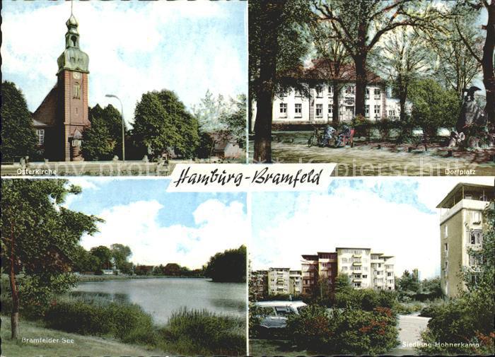 Bramfeld Scheidingweg See Simeen Kirche Steilhopper