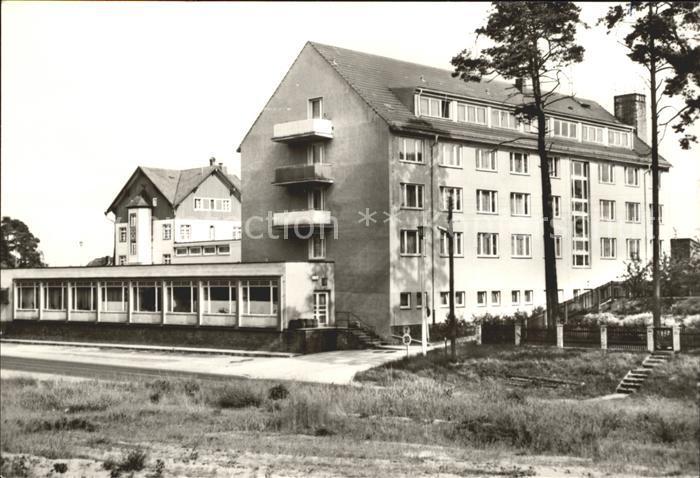 Lychen FDGB Erholungsheim Bertolt Brecht Kat. Lychen