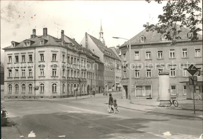 Freiberg Sachsen Karl Liebknecht Platz Kat. Freiberg