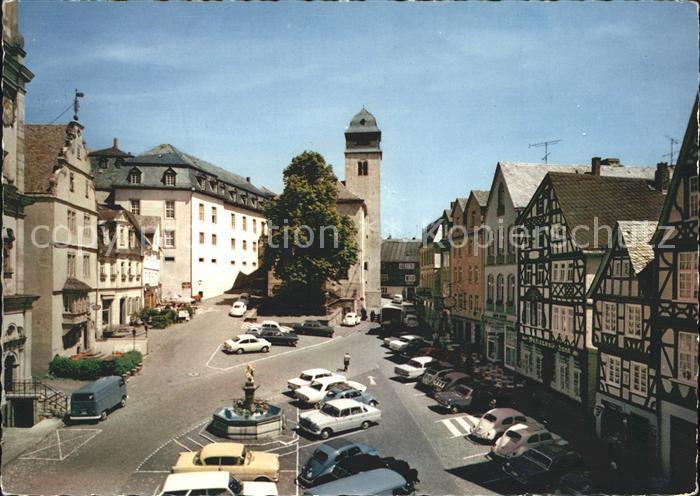 Hachenburg Westerwald Alter Markt Kat Hachenburg Nr