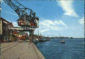 Krefeld Hafen Kat. Krefeld