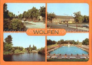 Wolfen Bitterfeld Bahnhof Schwimmbad / Bitterfeld /Anhalt-Bitterfeld LKR