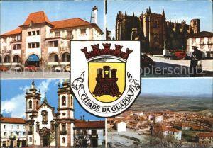 Guarda Portugal Cidade da Guarda Kirche Panorama  Kat. Guarda