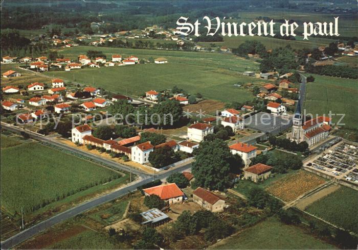 Saint Vincent de Paul Landes Vue aerienne Kat. Saint Vincent de Paul