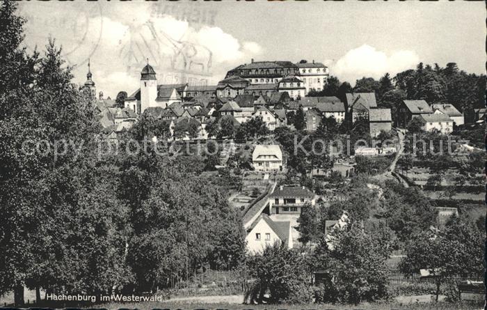 Hachenburg Westerwald  Kat. Hachenburg
