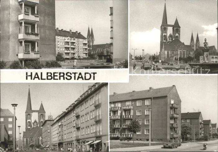 Halberstadt Lindenweg Fischmarkt Breiteweg Clara Zetkin Ring Kat. Halberstadt