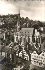 Esslingen Neckar Partie an der Frauenkirche Kat. Esslingen am Neckar