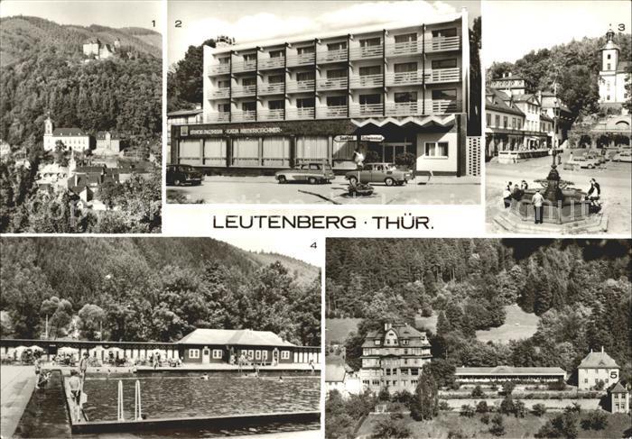 Leutenberg Thueringen Friedensberg FDGB Erholungsheim Katja Niederkirchner Sormitzblick Kat. Leutenberg