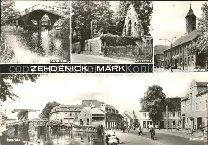 Zehdenick  Kat. Zehdenick
