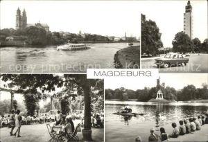 Magdeburg Elbe Dom Adolf Mittag See Kat. Magdeburg
