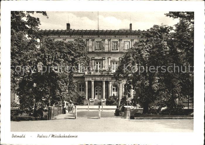 Detmold Palais Musikakademie Kat. Detmold