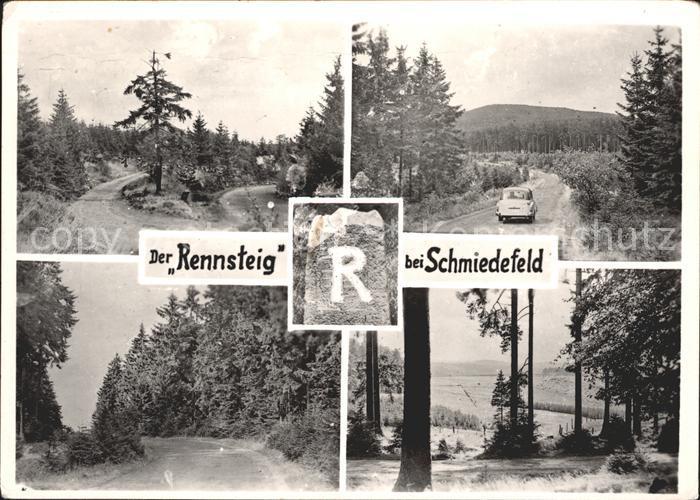 Schmiedefeld Rennsteig Rennsteig Kat. Schmiedefeld Rennsteig