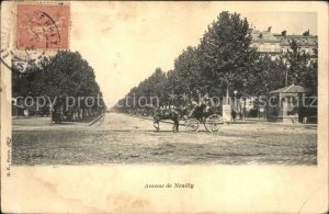 Neuilly Eure Avenue de Neuilly Kat. Neuilly