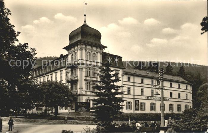 Friedrichroda FDGB Erholungsheim Hermann Danz Kat. Friedrichroda