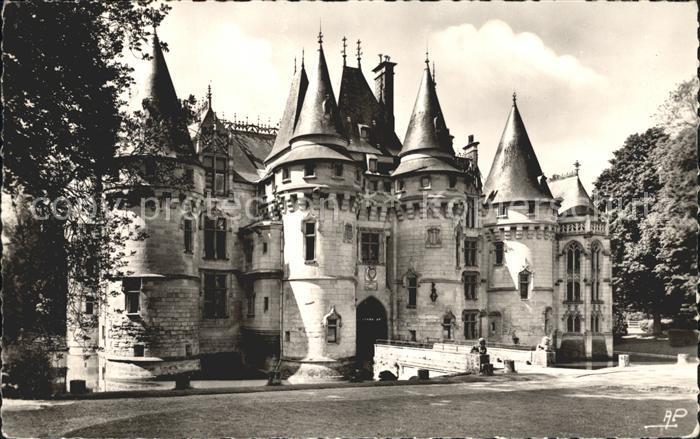 Vigny Moselle Chateau Entreee facade Nord Kat. Vigny