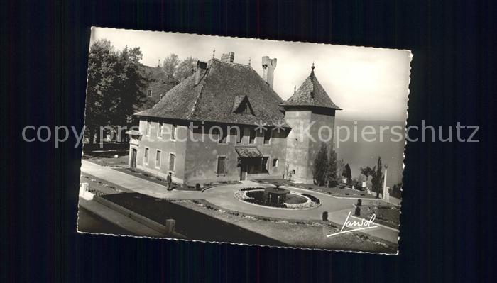 Thonon les Bains Chateau Sonnaz  Kat. Thonon les Bains