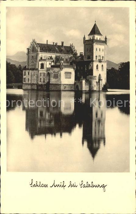 Anif Schloss Anif Salzburg Kat. Anif