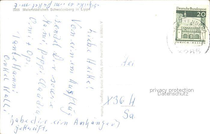 Schwalenberg Lied Unsere Heimat Ist Bekannt Unser Schwalenberg Land Kat Schieder Schwalenberg Nr Kf05202 Oldthing Ansichtskarten Nordrhein We