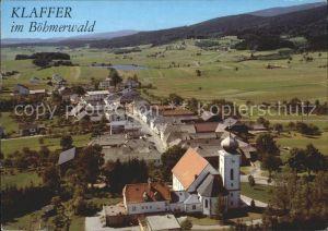 Klaffer Hochficht Fliegeraufnahme Boehmerwald Kat. Klaffer am Hochficht