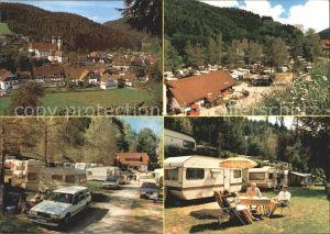 Bad Rippoldsau Schapbach Schwarzwald Camping Aleschof Kat. Bad Rippoldsau Schapbach