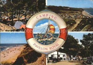 Bidart Camping Pavillon Royal Strand Segeln Kat. Bidart