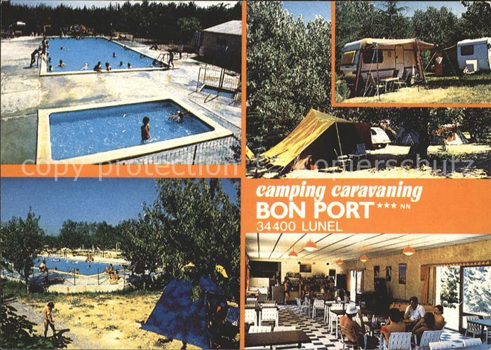 Lunel Camping Caravaning Bon Port Swimming Pool Kat. Lunel