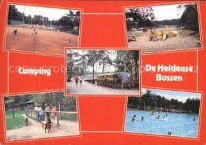 Helden Netherlands Camping De Heldense Bossen Tennis Kinderspielplatz Swimming Pool Kat. Helden