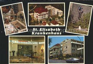 Bad Hersfeld St Elisabeth Krankenhaus Kat. Bad Hersfeld
