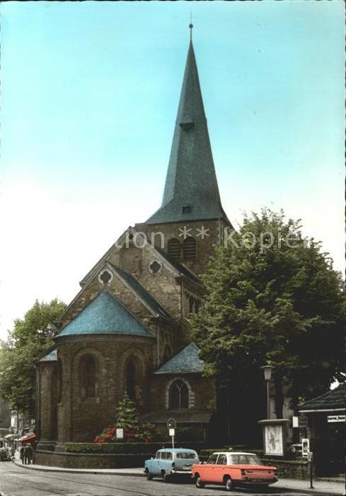 Hilden Duesseldorf Kirche Kat. Duesseldorf