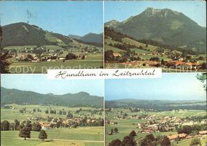 Hundham Miesbach Panorama Leitzachtal Kat. Fischbachau