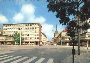 Hildesheim Blick vom Hindenburgplatz in die Schuhstrasse Kat. Hildesheim