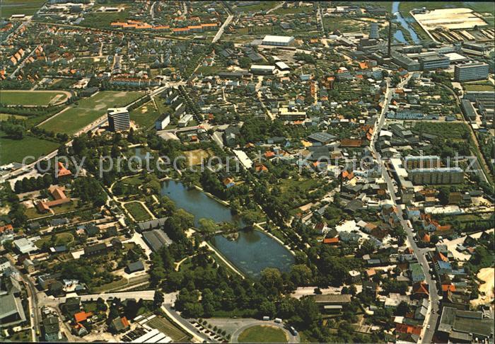 Uetersen Luftaufnahme Rosenstadt Kat. Uetersen