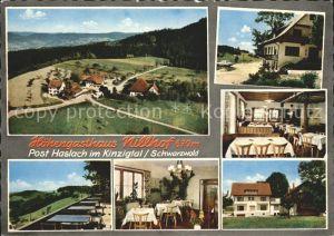 Haslach Kinzigtal Hoehengasthaus Nillhof Panorama Schwarzwald Kat. Haslach Kinzigtal