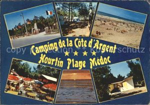 Hourtin Camping Cote Argent  Kat. Hourtin