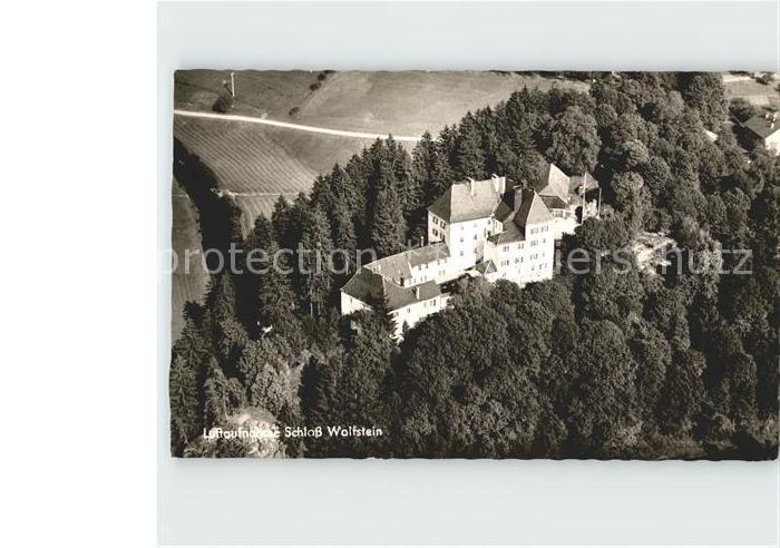 Freyung Fliegeraufnahme Schloss Wolfstein Kat. Freyung