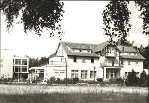 Malchow Ferienheim Hans Kahle Kat. Malchow Mecklenburg