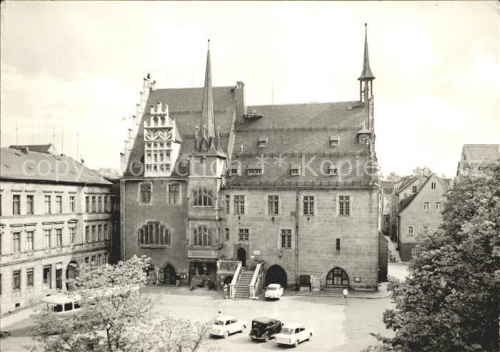 Neustadt Orla Rathaus Kat. Neustadt Orla
