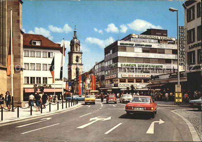 Heilbronn Neckar Hafenmarktturm  Kat. Heilbronn