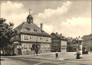 Waltershausen Gotha Markt Rathaus Kat. Waltershausen