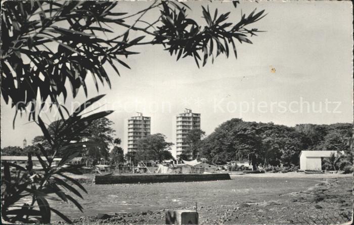 Conakry Boulbinet buildings Kat. Conakry