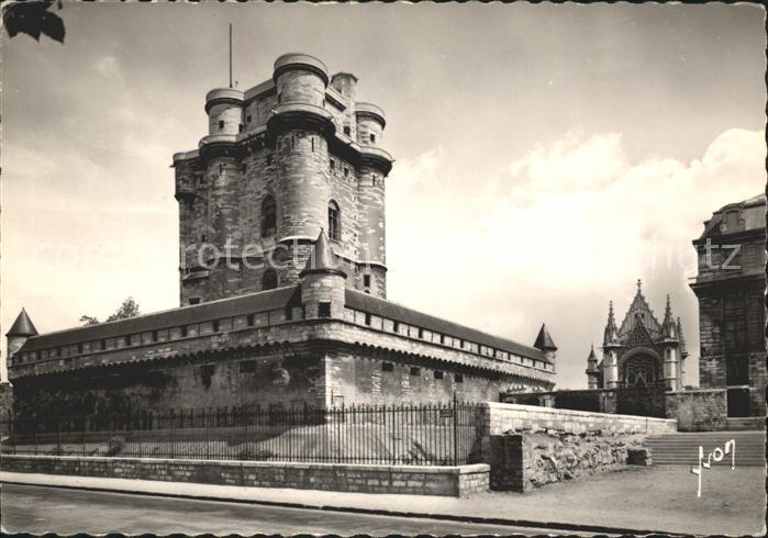 Vincennes Le donjon du Chateau et la Sainte Chapelle Kat. Vincennes