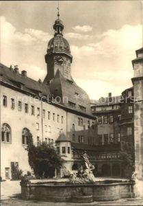 Sondershausen Thueringen Schlosshof Brunnen Kat. Sondershausen
