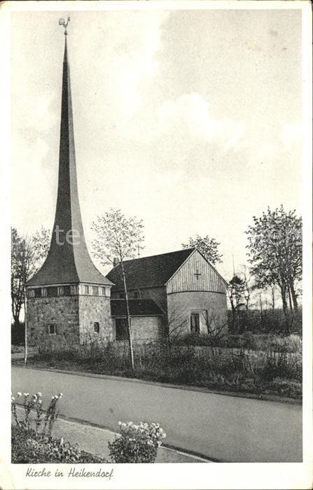 Heikendorf Kirche Kat. Heikendorf