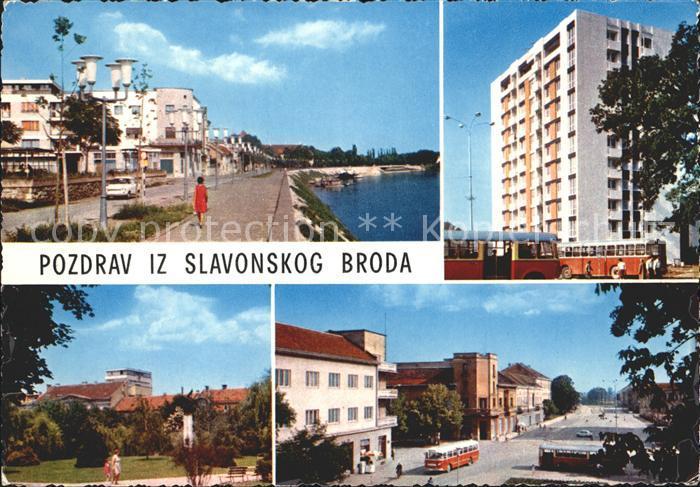 Slavonski Brod Teilansichten Autobus  Kat. Slavonski Brod