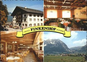 Irdning Hotel Finkenhof Gastraeume Panorama Kat. Irdning Ennstal Steiermark