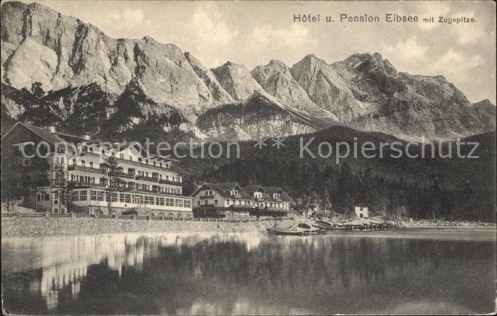 Eibsee Hotel Pension Eibsee Zugspitze Kat. Grainau